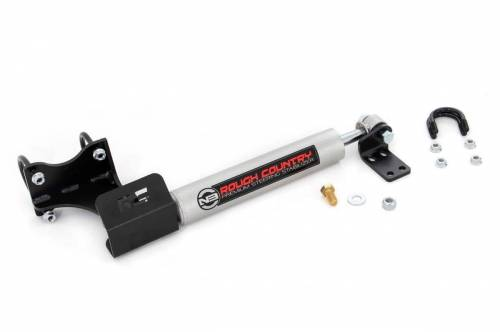Rough Country Suspension - 8731930 | Jeep N3 Steering Stabilizer (07-18 Wrangler JK) - Image 2