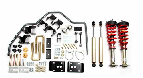 Vehicle Specific Products - Belltech Suspension - 1001HKP | Complete 3/4 Lowering Performance Handling Kit Plus