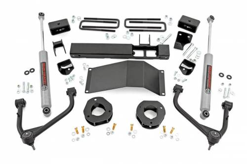 Spotlight Products - Daily Deals - Rough Country Suspension - 29530 | 3 Inch GM Suspension Lift Kit with Upper Control Arms