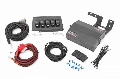 Interior - Switches & Housings - Rough Country Suspension - 70953 | Jeep Multiple Light Controller