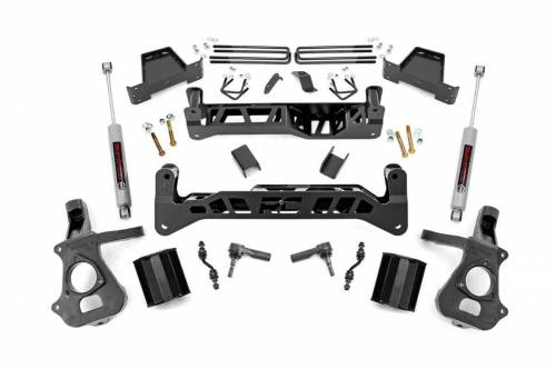 Spotlight Products - Daily Deals - Rough Country Suspension - 18730 | 7 Inch GM Suspension Lift Kit