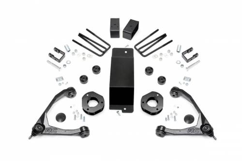 Suspension - Suspension Lift Kits - Rough Country Suspension - 18900 | 3.5 Inch GM Suspension Lift Kit | Magnaride