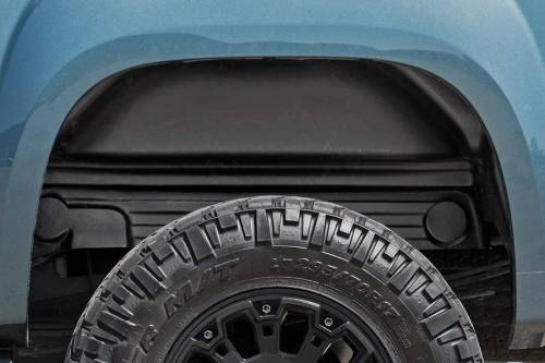 Exterior - Wheel Well Liners - Rough Country Suspension - 4207 | Chevrolet Rear Wheel Well Liners