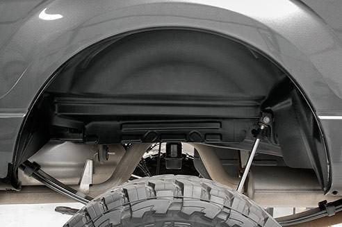 Exterior - Wheel Well Liners - Rough Country Suspension - 4517 | Ford Rear Wheel Well Liner