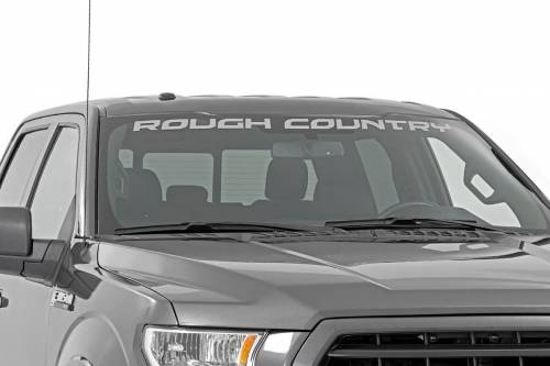 Rough Country Suspension - 84167 | Rough Country large curved window Decal