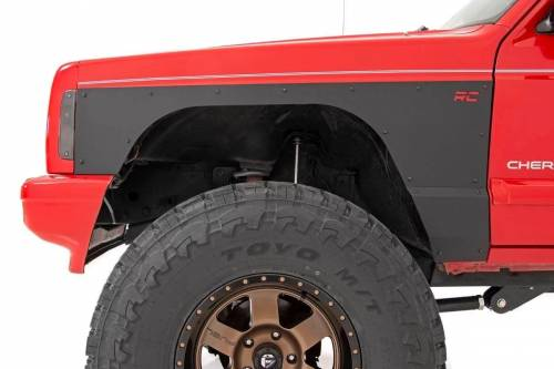 Rough Country Suspension - 10581 | Jeep Front & Rear Upper & Lower Quarter Panel Armor - Image 7