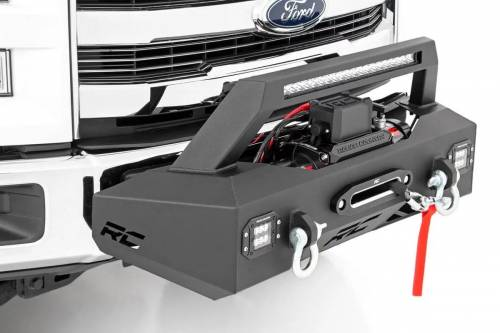 Rough Country Suspension - 10762 | EXO Winch Mount System
