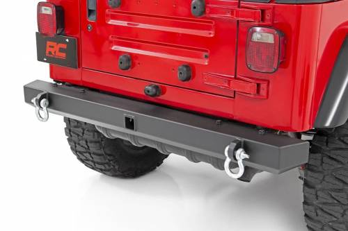 Rough Country Suspension - 10591 | Jeep Classic Full Width Rear Bumper