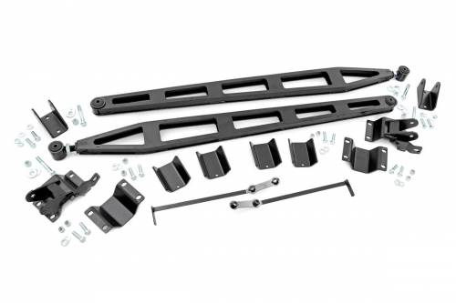 Suspension Components - Traction Bars - Rough Country Suspension - 31006 | Dodge Traction Bar Kit