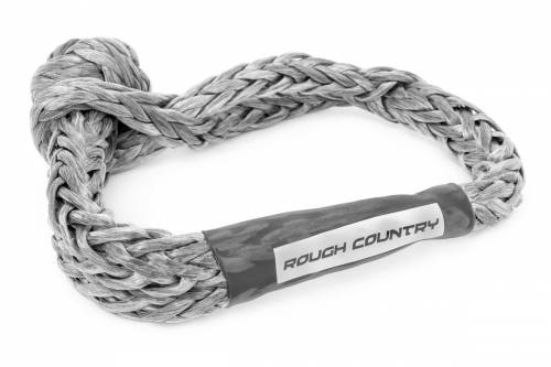 Exterior - Winches & Accessories - Rough Country Suspension - RS135 | Soft Shackle Rope