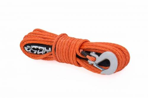 Exterior - Winches & Accessories - Rough Country Suspension - RS111 | Synthetic Rope - 85 ft