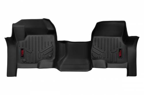 Interior - Floor Mats & Cargo Liners - Rough Country Suspension - M-5117 | Heavy Duty Front Floor Mats | Bench Seats