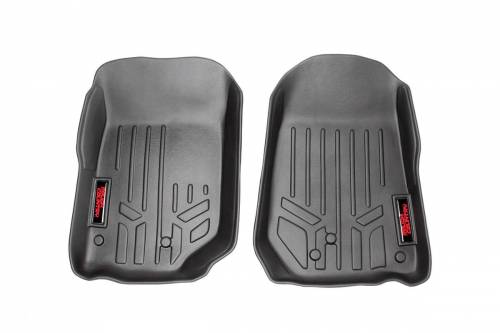 Interior - Floor Mats & Cargo Liners - Rough Country Suspension - M-60200 | Heavy Duty Front Floor Mats