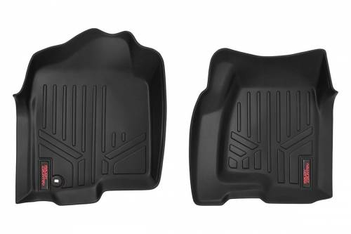 Interior - Floor Mats & Cargo Liners - Rough Country Suspension - M-2991 | Heavy Duty Front Floor Mats
