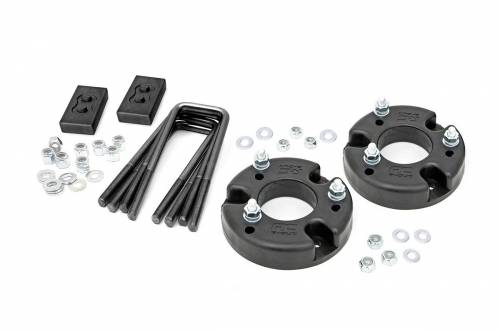 Suspension - Suspension Lift Kits - Rough Country Suspension - 52201 | 2 Inch Ford Lift Kit w/ Strut Spacers, No Shocks