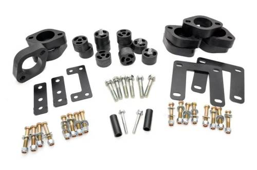 Suspension - Body Lift Kits - Rough Country Suspension - RC800 | 1.5 Inch Dodge Body Lift Kit