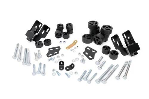 Suspension - Body Lift Kits - Rough Country Suspension - RC701 | GM 1.25 Inch Body Lift Kit