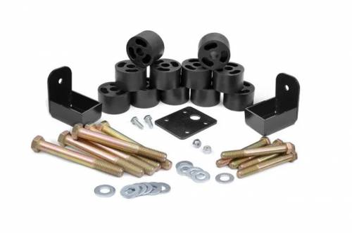 Suspension - Body Lift Kits - Rough Country Suspension - 1157 | Jeep 1.25 Inch Body Lift