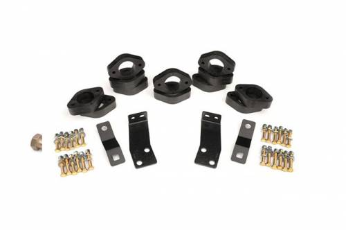 Suspension - Body Lift Kits - Rough Country Suspension - RC601 | Jeep 1.25 Inch Body Lift Kit | Automatic Transmission