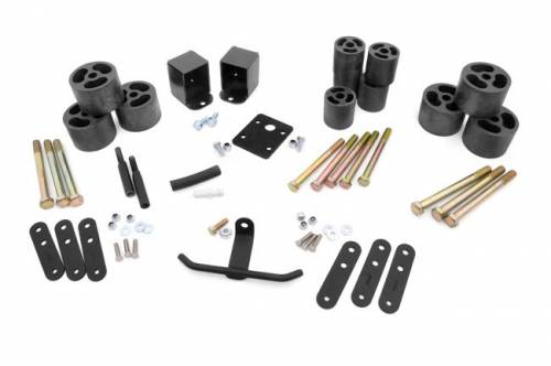Suspension - Body Lift Kits - Rough Country Suspension - RC610 | Jeep 2 Inch Body Lift