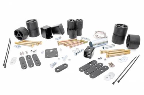 Suspension - Body Lift Kits - Rough Country Suspension - RC605 | Jeep 2 Inch Body Lift Kit | Automatic  Transmission