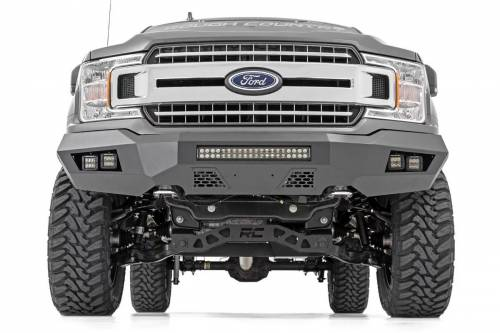 Rough Country Suspension - 10776 | Ford Heavy Duty Front LED Bumper