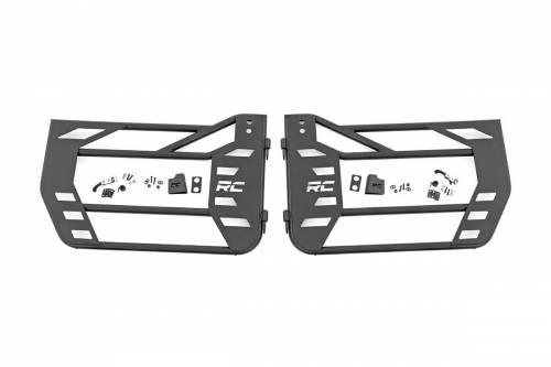 Rough Country Suspension - 10586 | Jeep Steel Tube Doors | Front