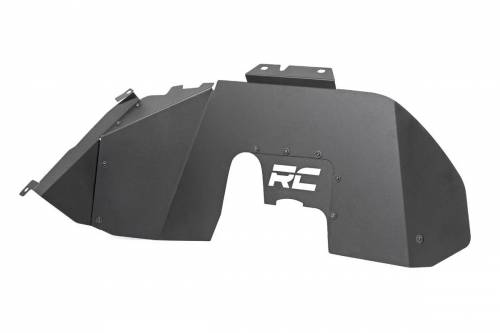 Exterior - Fender Flares - Rough Country Suspension - 10497 | Jeep Inner Fenders | Front ONLY