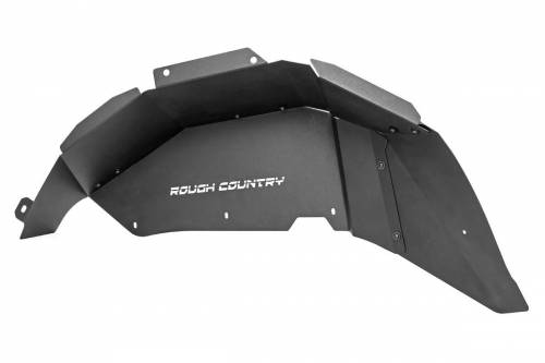 Exterior - Fender Flares - Rough Country Suspension - 10498 | Jeep Inner Fenders | Rear ONLY