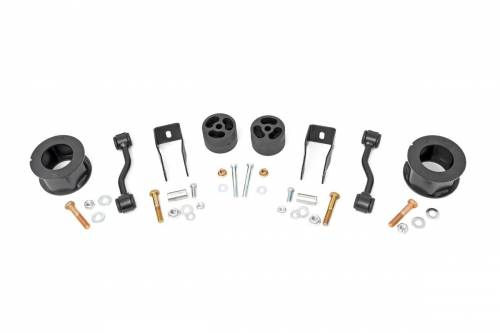 Suspension - Body Lift Kits - Rough Country Suspension - 63400 | 2.5 Inch Jeep Suspension Lift Kit