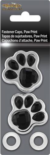 Exterior - License Plate Frames - Cruiser Accessories - 82530 | Paws Fastener Caps