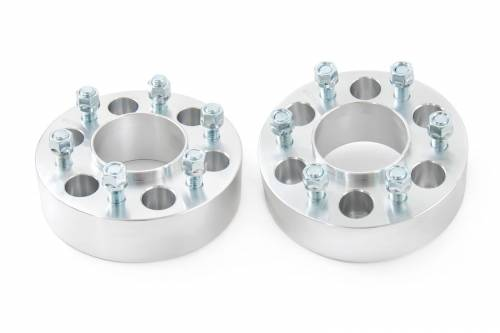 Wheels - Wheel Spacers - Rough Country Suspension - 10092 | 2 Inch Ford Wheel Spacers