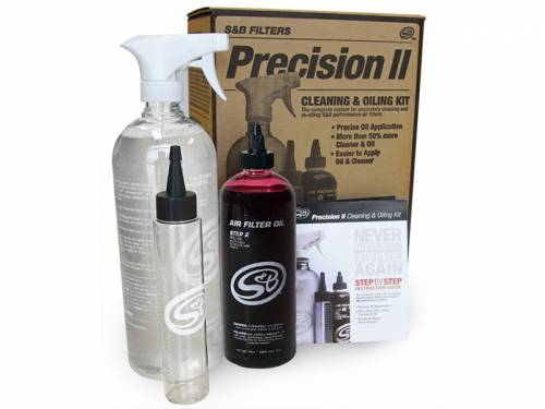 Performance - Cold Air Intake System - S&B Filters - 88-0008 | Precision II Cleaning & Oil Kit (Red Oil)