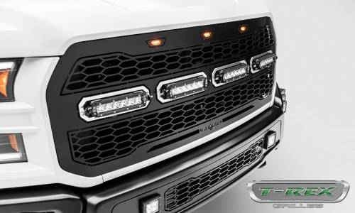 "T-Rex Billet - 6515661 | Revolver Series Main Grille Replacement, Aluminum Accent Trim, (4) 6"" LED Bars - Image 5"