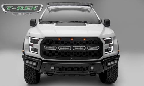 "T-Rex Billet - 6515661 | Revolver Series Main Grille Replacement, Aluminum Accent Trim, (4) 6"" LED Bars - Image 6"
