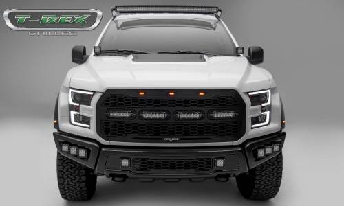 "T-Rex Billet - 6515661 | Revolver Series Main Grille Replacement, Aluminum Accent Trim, (4) 6"" LED Bars - Image 9"