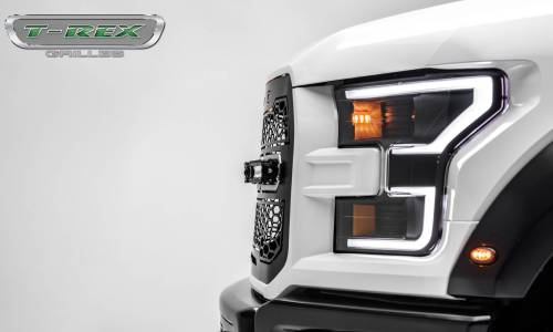 "T-Rex Billet - 6515661 | Revolver Series Main Grille Replacement, Aluminum Accent Trim, (4) 6"" LED Bars - Image 10"