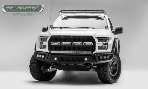 "T-Rex Billet - 6515661 | Revolver Series Main Grille Replacement, Aluminum Accent Trim, (4) 6"" LED Bars - Image 11"
