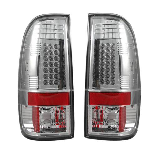 """Lighting - LED Tail Lights - Recon Truck Accessories - 264172CL 
