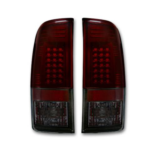"""Lighting - LED Tail Lights - Recon Truck Accessories - 264172RBK 