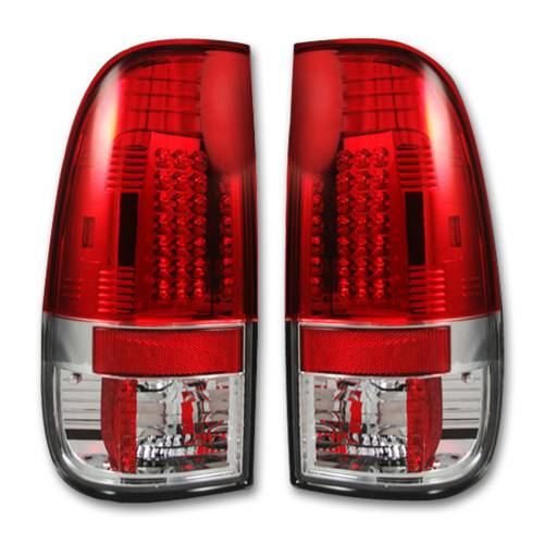 """Lighting - LED Tail Lights - Recon Truck Accessories - 264172RD 