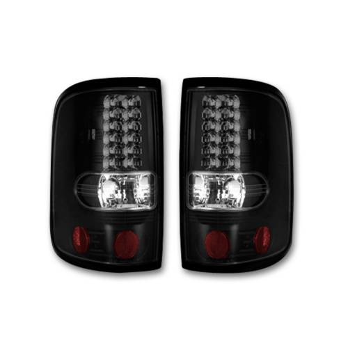 """Lighting - LED Tail Lights - Recon Truck Accessories - 264178BK 