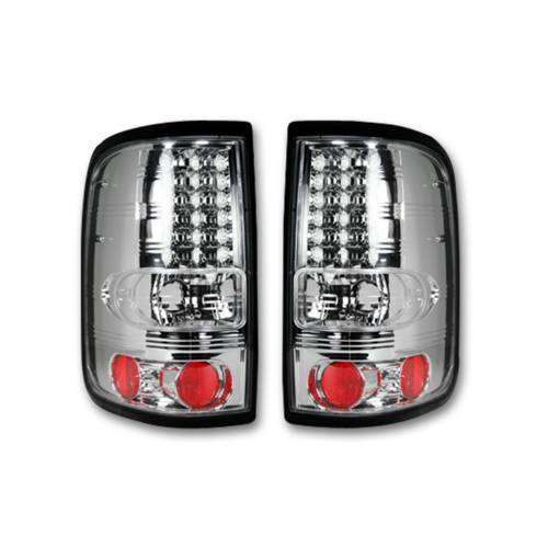 """Lighting - LED Tail Lights - Recon Truck Accessories - 264178CL 