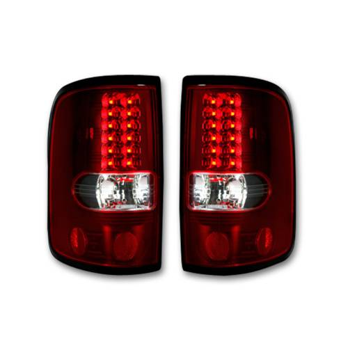 """Lighting - LED Tail Lights - Recon Truck Accessories - 264178RD 
