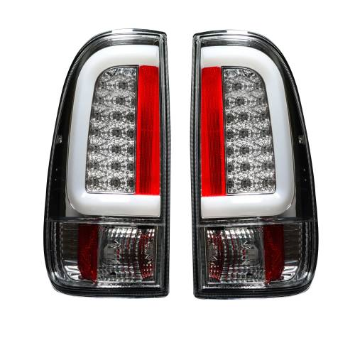 Lighting - LED Tail Lights - Recon Truck Accessories - 264293CL | OLED TAIL LIGHTS – Clear Lens