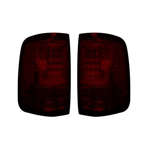 """Lighting - LED Tail Lights - Recon Truck Accessories - 264378RD 