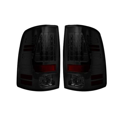 Lighting - LED Tail Lights - Recon Truck Accessories - 264169BK | LED TAIL LIGHTS (Replaces Factory OEM Halogen Tail Lights) – Smoked Lens
