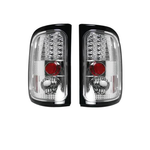 Lighting - LED Tail Lights - Recon Truck Accessories - 264170CL |  LED TAIL LIGHTS – Clear Lens
