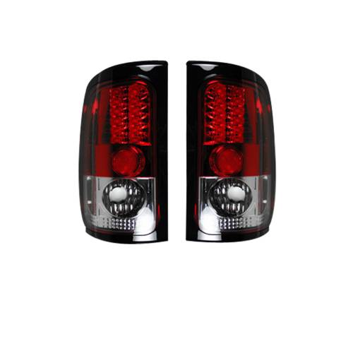 Lighting - LED Tail Lights - Recon Truck Accessories - 264170RD |  LED TAIL LIGHTS – Red Lens
