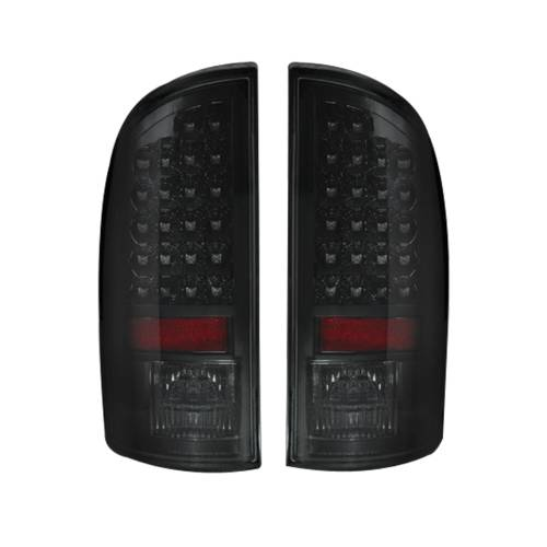 Lighting - LED Tail Lights - Recon Truck Accessories - 264171BK | LED Tail Lights – Smoked Lens